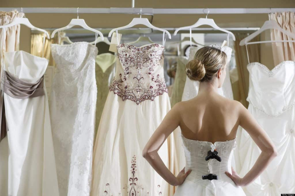Schupepe Tents wedding dress shopping